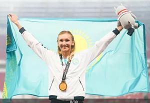 金メダル オルガ・リパコワ