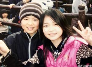 幼い頃の並木月海選手と那須川天心さん
