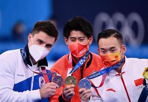 橋本大輝金メダル