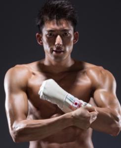 見延和靖選手の筋肉