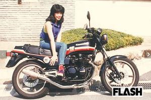 高市早苗 バイク