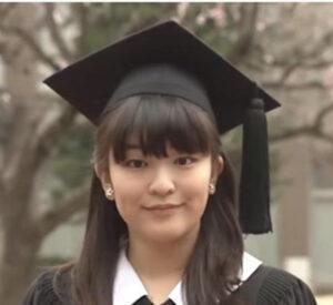 ICU卒業時の眞子さま